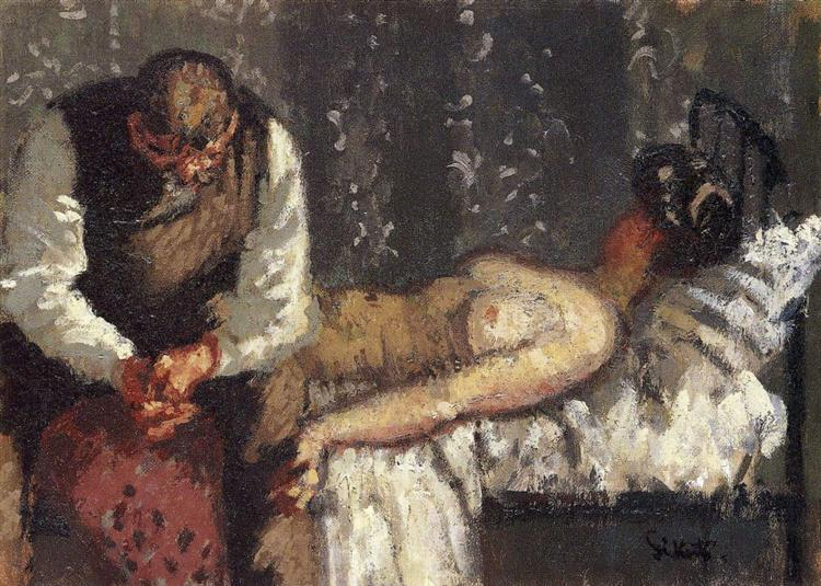 The Camden Town Murder, or What Shall We Do For the Rent?, c.1908 - c.1909 - Walter Sickert