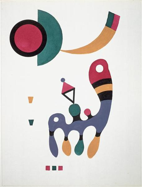 Composition, 1944 - Wassily Kandinsky