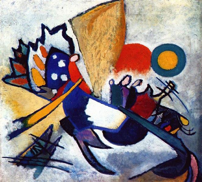 Improvisation 29, 1917 - Wassily Kandinsky