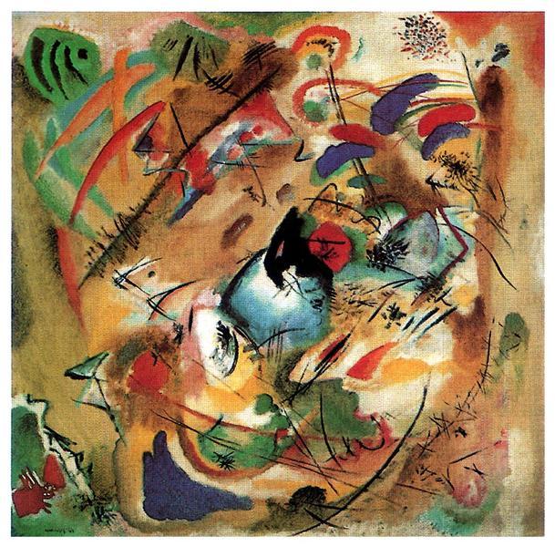 Improvisation (Dreamy), 1913 - Wassily Kandinsky