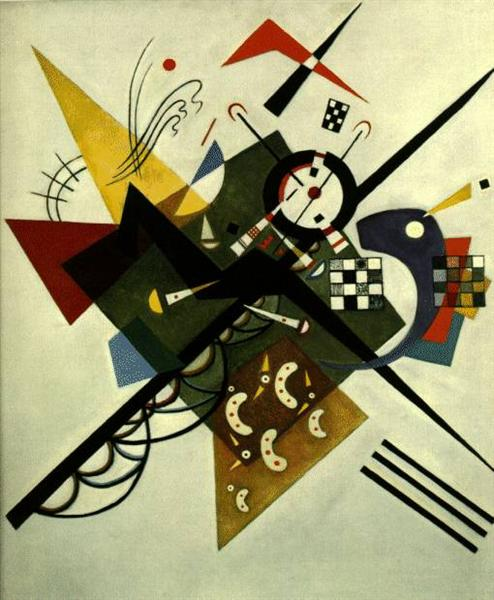 On White II, 1923 - Wassily Kandinsky