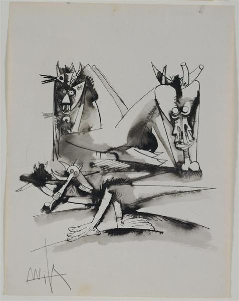 Untitled 0742 - Wilfredo Lam