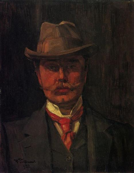 Self-Portrait, 1902 - Wilhelm Trübner