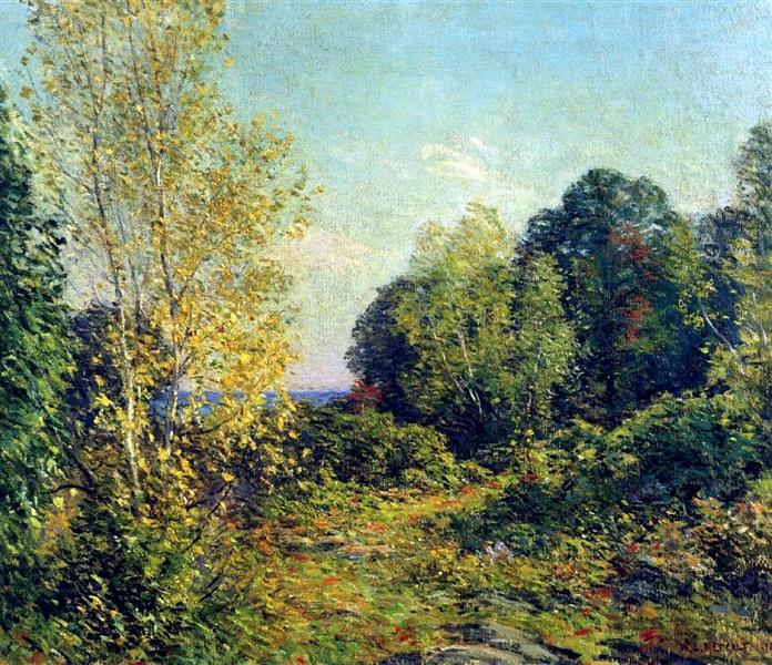 Approaching Autumn, 1909 - Willard Metcalf