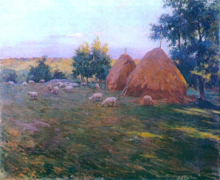 Haystacks, 1888 - Willard Metcalf