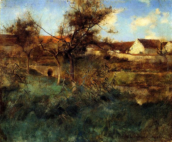 Landscape, 1884 - Willard Metcalf