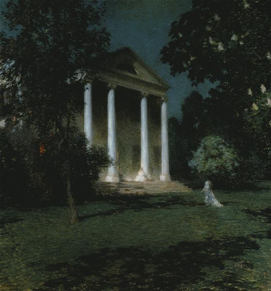 May Night, 1906 - Willard Metcalf