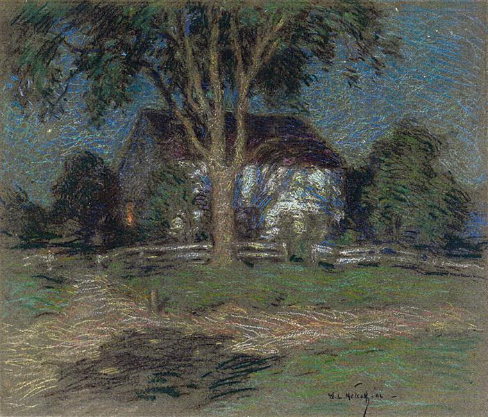 Moonlight, 1906 - Willard Metcalf