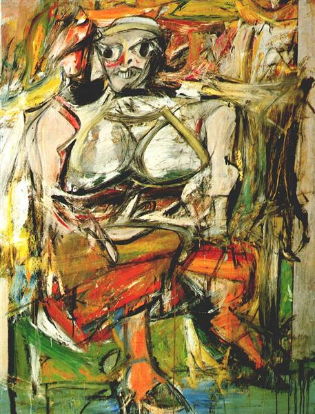 Woman I - de Kooning Willem