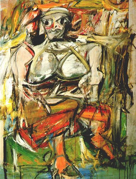 Woman I, 1952 - Willem de Kooning