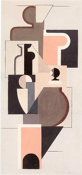 Picture T 21, 1922 - Willi Baumeister