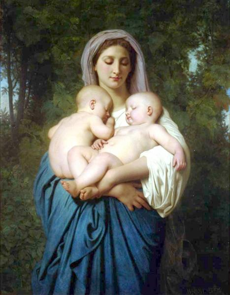 The Charity, 1859 - William-Adolphe Bouguereau