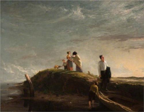 The Reluctant Departure  - William Collins