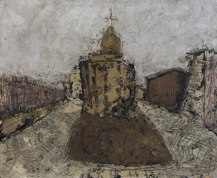 Naples, Church, 1950 - William Congdon