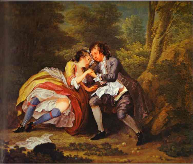 After outdoor scene william hogarth for William hogarth was noted for painting