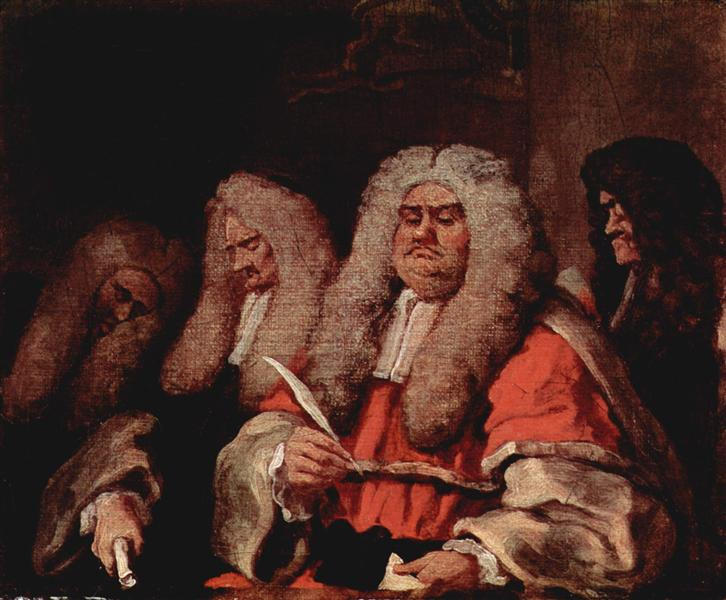 The Bench, c.1758 - William Hogarth