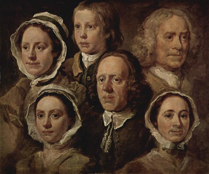 The servants of the painter, 1750 - William Hogarth