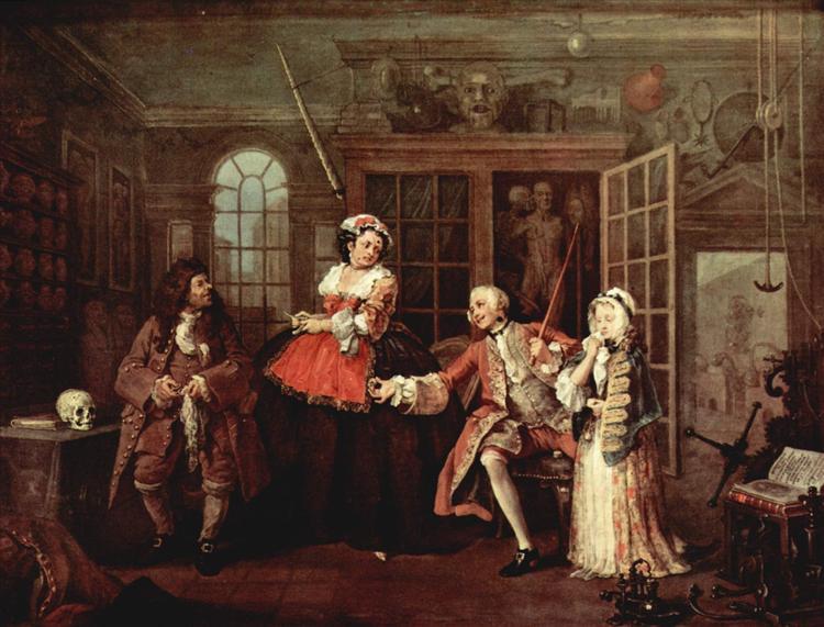 Visit with the Quack Doctor, c.1743 - c.1745 - William Hogarth
