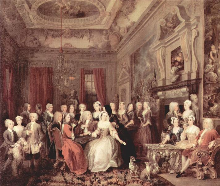 Wanstead Assembly at Wanstead_ House, c.1731 - William Hogarth