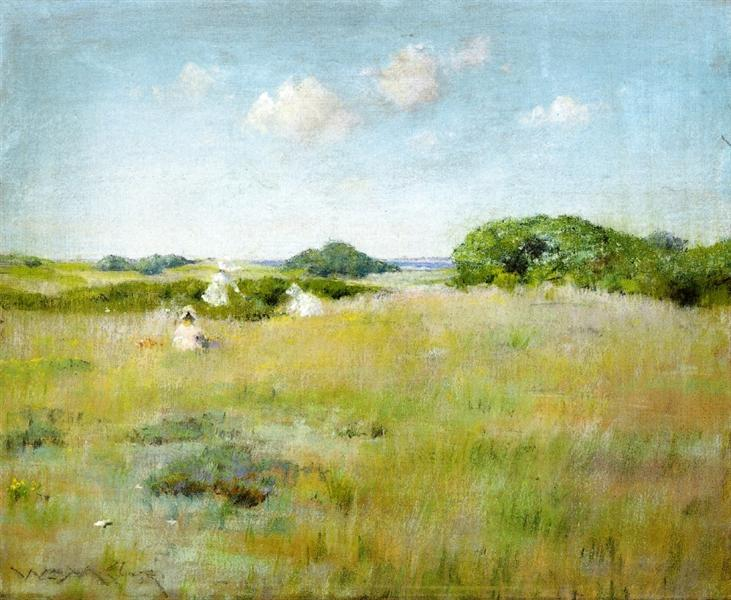 A Summer Day, 1895 - William Merritt Chase
