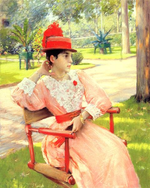 Afternoon In The Park, 1890 - William Merritt Chase
