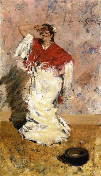Dancing Girl, c.1881 - William Merritt Chase