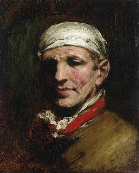 Man with Bandana, 1872 - 1878 - William Merritt Chase