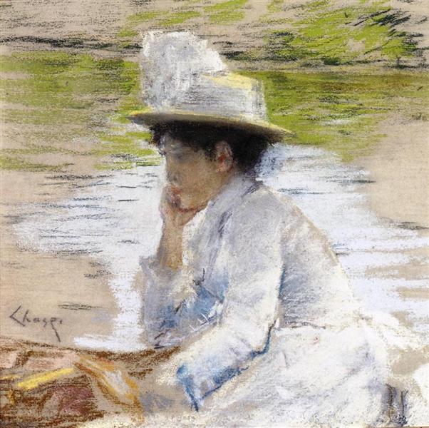 Portrait of Mrs. Chase, 1886 - William Merritt Chase
