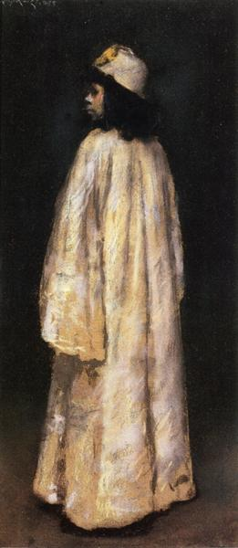 Study of an Arab Girl, c.1888 - William Merritt Chase