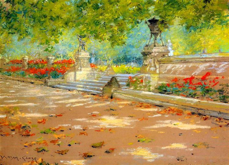 Terrace, Prospect Park, 1886 - William Merritt Chase
