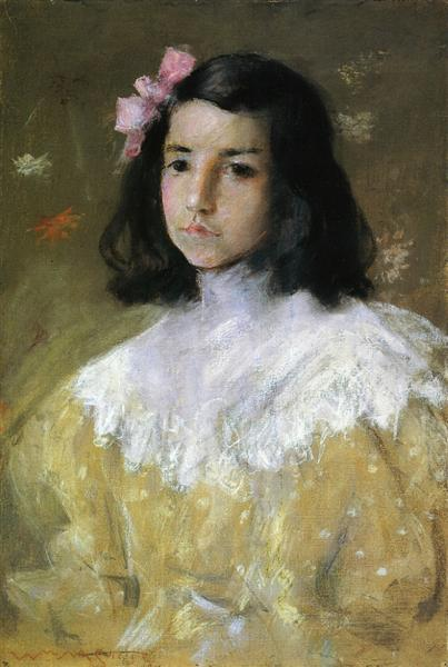 The Pink Bow, 1895 - William Merritt Chase