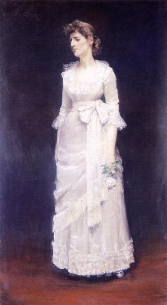The White Rose, aka Miss Jessup, c.1886 - William Merritt Chase