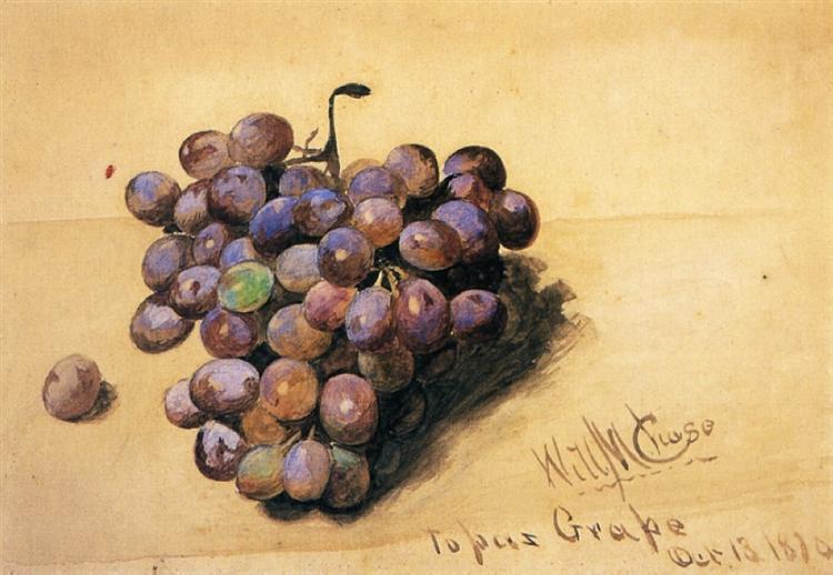Topaz Grapes, 1870 - William Merritt Chase