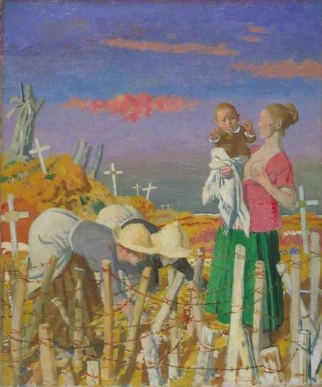 Harvest, 1918 - William Orpen