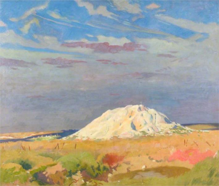The Butte de Warlencourt, 1917 - William Orpen