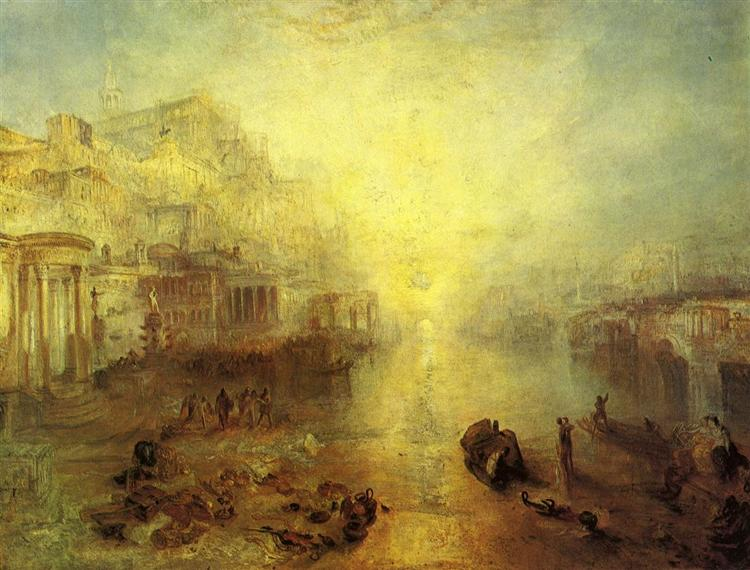 Ancient Italy. Ovid Banished from Rome, 1838 - Joseph Mallord William Turner