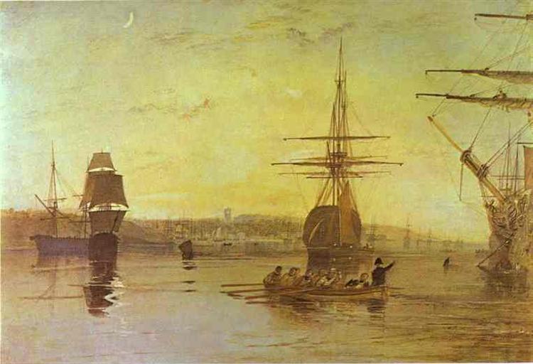 Cowes, Isle of Wight, c.1827 - J.M.W. Turner