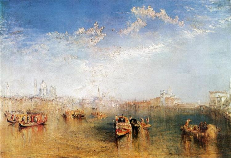 Giudecca, la Donna della Salute and San Georgio, 1841 - William Turner