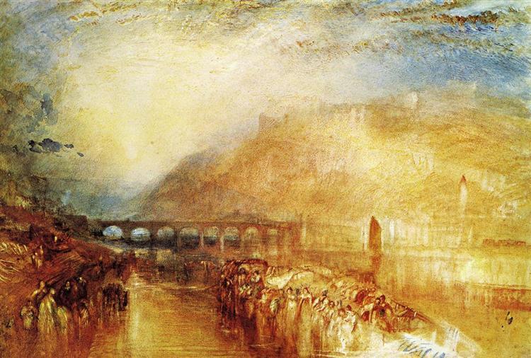 Heidelberg, c.1846 - J.M.W. Turner