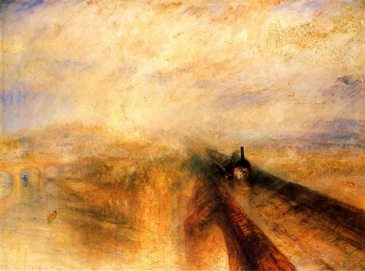 Rain Steam and Speed, The Great Western Railway - J.M.W. Turner