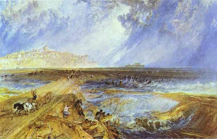 Rye, Sussex, c.1823 - J.M.W. Turner