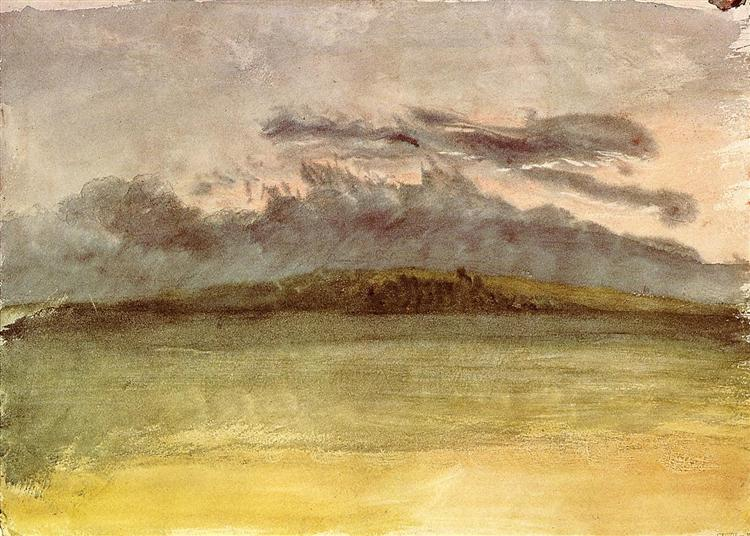 Storm Clouds Sunset, c.1825 - J.M.W. Turner