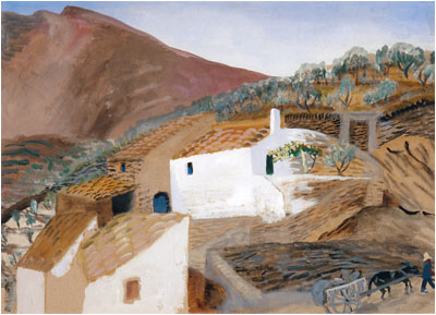 Costa Brava, 1953 - Winifred Nicholson