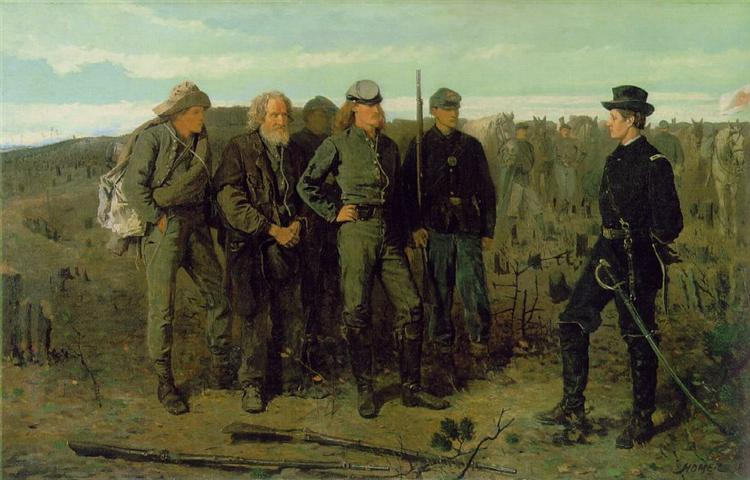 Prisoners from the Front, 1866 - Winslow Homer