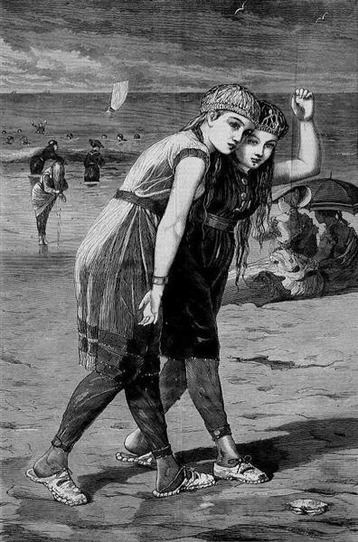 The Bathers, 1873 - Winslow Homer