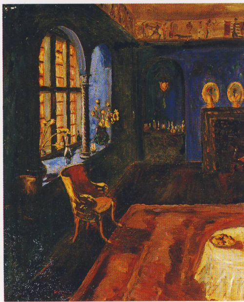 The Blue Room at Lympne - Winston Churchill - WikiArt.org