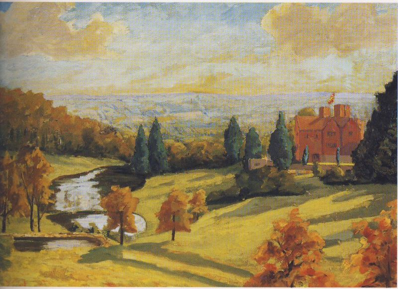 Famous Paintings By Winston Churchill