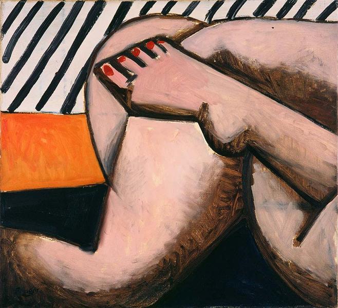 Legs, 1955 - Wojciech Fangor