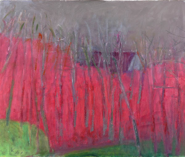 Half Hidden, 2009 - Wolf Kahn