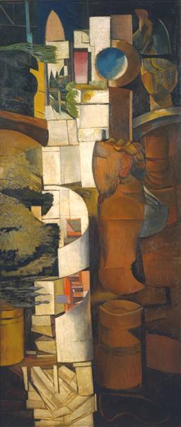 Bagdad, 1928 - Wyndham Lewis